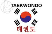 Bandera de Taekwondo Corea