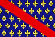 Bandera de Bourbonnais