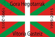 Flag of Basque Country Custom