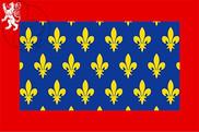 Bandera de Maine Francia