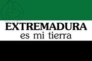 Flag of Extremadura es mi tierra