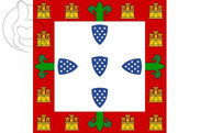 Bandeira do Portugal (1385 a 1475 y 1479 a 1485)