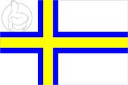 Bandera de Norrland