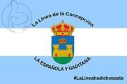 Bandera de La Línea de la Concepción Personalizada