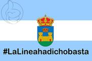 Bandera de La Línea de la Concepción Hastag