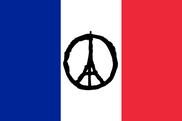 Bandera de Francia Torre Eiffel