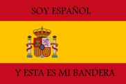 Bandera de Soy Español y esta es mi bandera