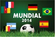 pack de Mondial FIFA 2014 drapeaux