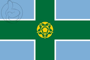 Bandeira do Derbyshire