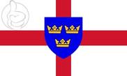 Drapeau Anglia Oriental