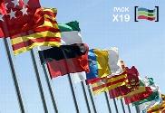 pack de Lot drapeaux communautés autonomes en Espagne