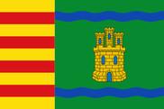 Bandera de Alcolea de Cinca