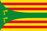 Flag of Hoz de Jaca
