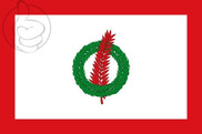 Bandera de Santa Perpetua de Moguda