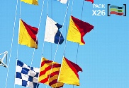 pack de Bandeiras náuticas Código Internacional de Sinais