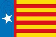 Flag of Estrelada valencianista