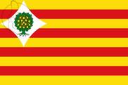 Flag of Comarca del Campo de Belchite
