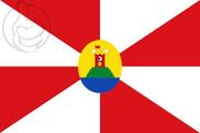 Flag of Abanto (Zaragoza)