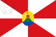 Bandera de Abanto (Zaragoza)