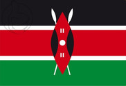 Flag of Kenia