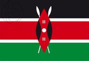 Bandera de Kenia