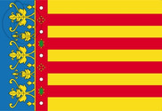 Bandeira do Comunidad Valenciana