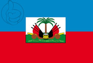Drapeau de la Haïti