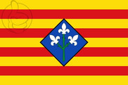 Flag of Provincia de Lérida
