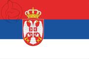 Bandeira do Serbia C/E