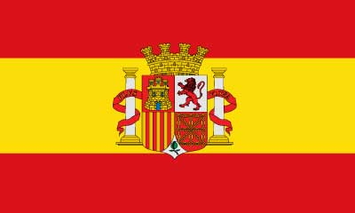 Bandera Spain Shield II Republic
