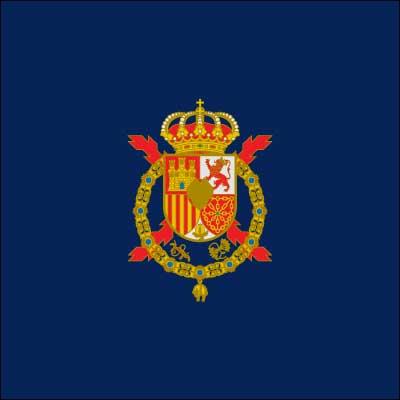 Bandera Estandarte don Juan Carlos