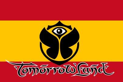 Bandera Tomorrowland España