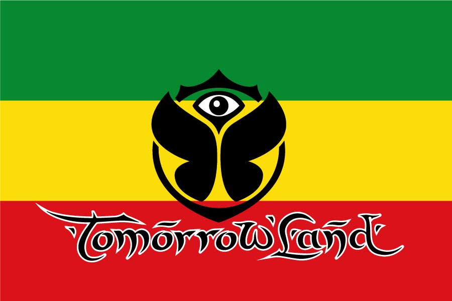 Bandera Tomorrowland Rastafari