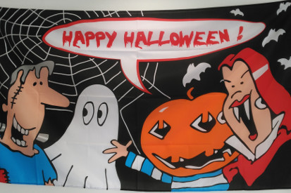Bandera Happy Halloween