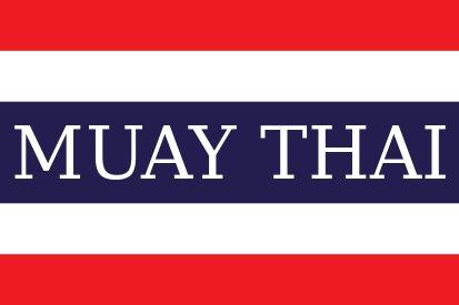 Bandera Tailandia Muay Thai