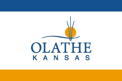 Bandera Olathe, Kansas