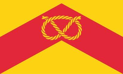 Bandera Staffordshire