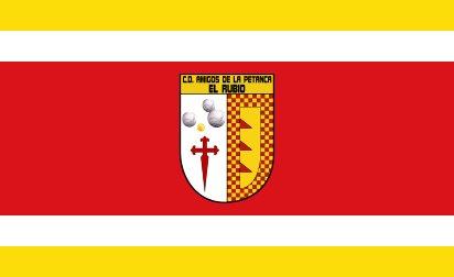 Bandera Amigos de la Petanca El Rubio