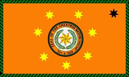 Bandera Nación Cheroqui