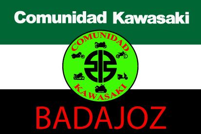 Drapeau Communauté Kawasaki Extremadura Badajoz