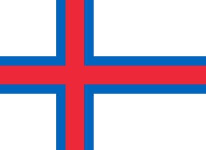 Bandera Isole Faroe