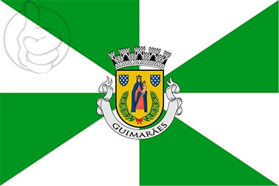 Bandera Guimarães Municipality