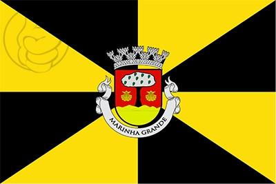 Bandera Marinha Grande Municipality