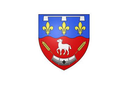 Bandera Berchères-Saint-Germain
