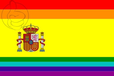 Bandera Spagna LGBT