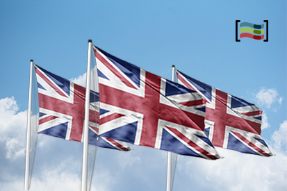 Bandera Pack 3 flags of United Kingdom