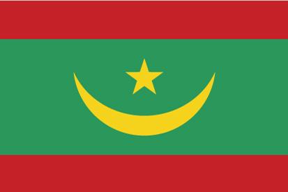 Bandera Mauritania