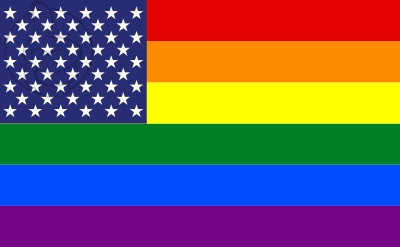 Bandera United States Gay