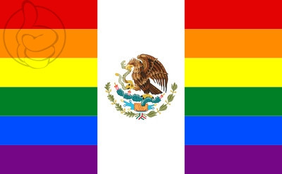 Bandera Mexico Gay