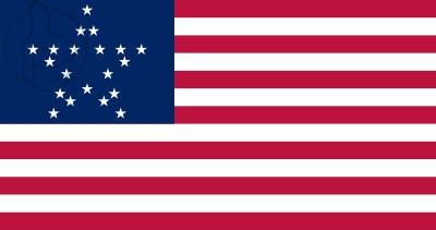 Bandera Estados Unidos GreatStar (1837 - 1845)